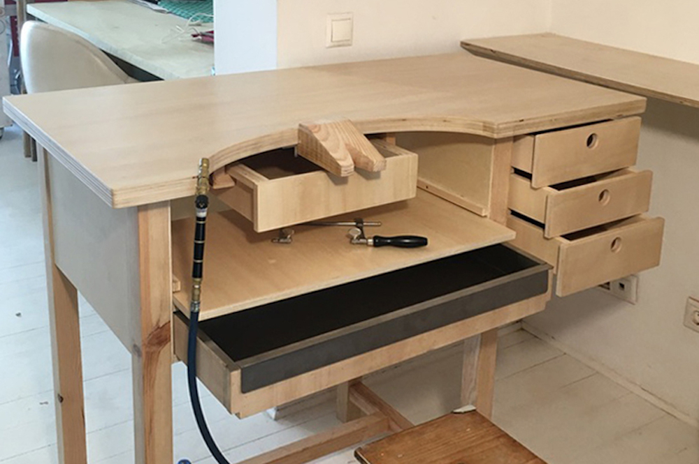 WORKBENCH FOR JEWELER